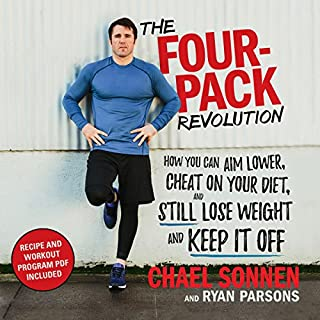 The Four-Pack Revolution     How You Can Aim Lower, Cheat on Your Diet, and Still Lose Weight and Keep It Off              Auteur(s):                                                                                                                                 Chael Sonnen,                                                                                        Ryan Parsons                               Narrateur(s):                                                                                                                                 David Bendena                      Durée: 5 h et 51 min     20 évaluations     Au global 4,5