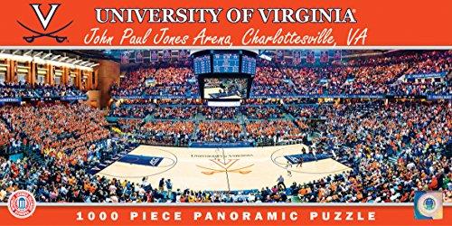 MasterPieces NCAA Panoramics 1000 Puzzles Collection - Virginia Basketball NCAA Panoramics 1000 Piece Jigsaw Puzzle