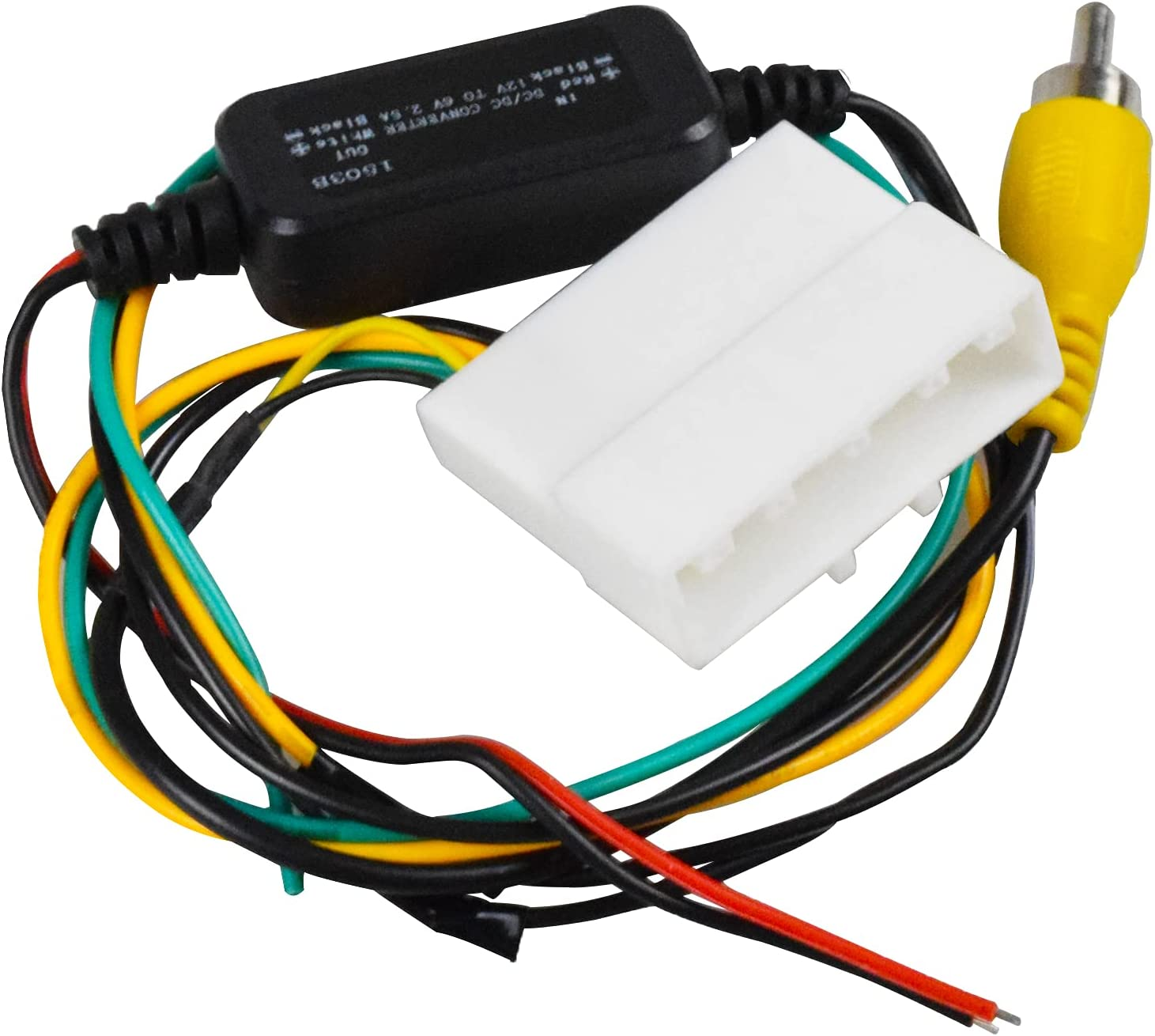 buy backup camera retention wire harness ux-ni006 for nissan altima frontier  juke rogue sentra cube murano quest leaf titan,includes 12v to 6v converter  online in indonesia. b091yk4lz9  indonesia