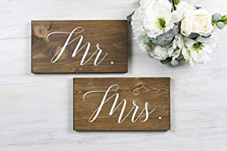 mr and mrs chair backers