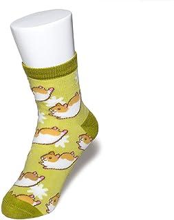 ペットラバーズ ハムスター レディース ソックス 靴下 動物柄 Hamster Socks ペットとアニマルソックス SD-1003 PetLovers hamuco