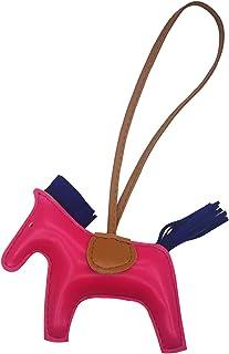 Bag Charm for Women Purse Charms Horse Leather Keychain Handbag accessory