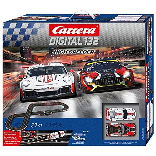 Carrera DIGITAL 132 High Speeder 20030003 Autorennbah Set
