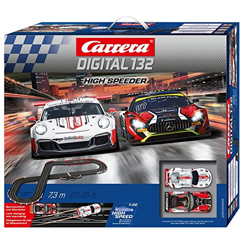 Carrera DIGITAL 132 High Speeder 20030003 Autorennbah Set