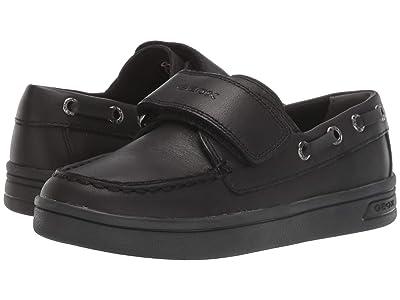 Geox Kids Jr Djrock 19 (Little Kid/Big Kid) (Black Oxford) Boys Shoes
