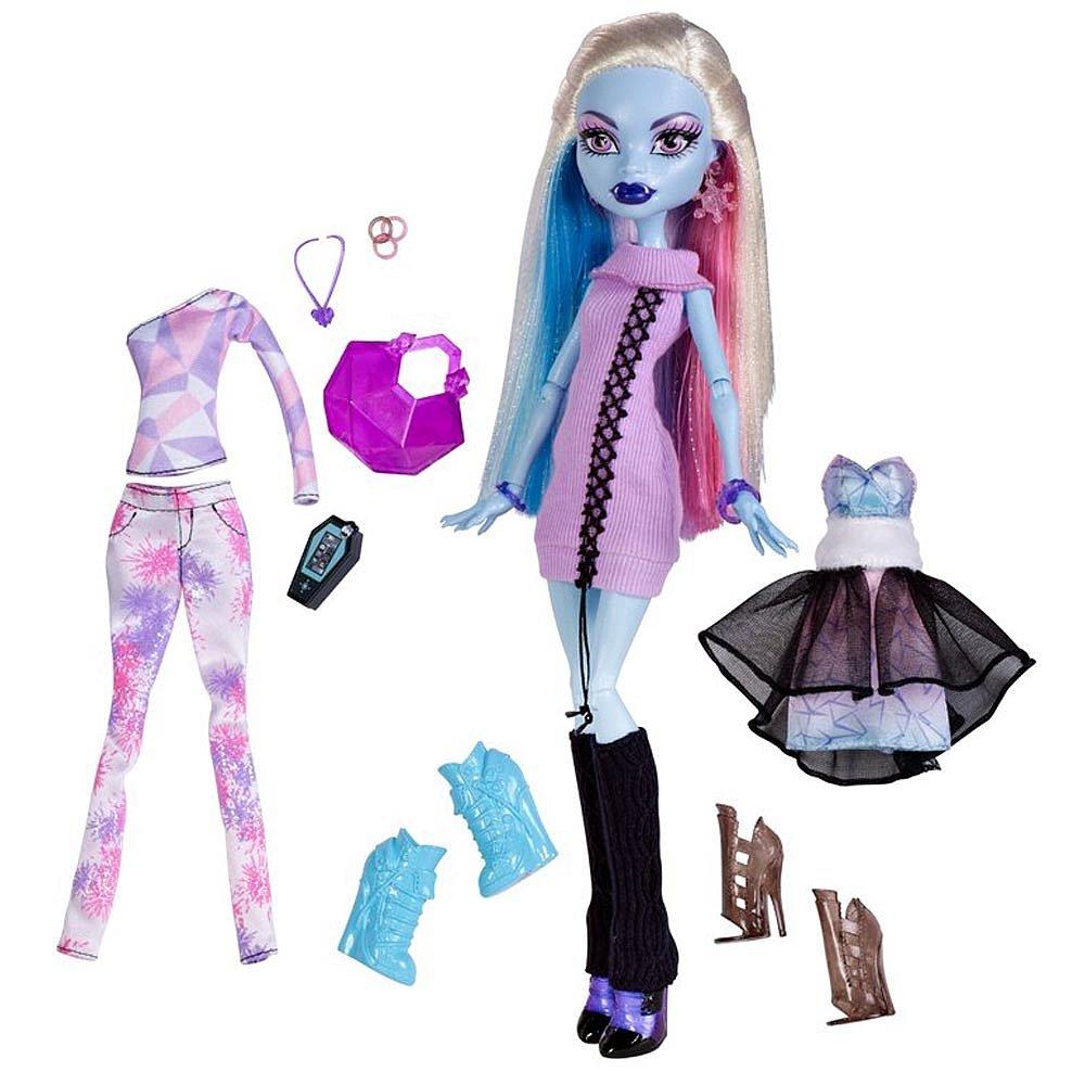 Amazon.es: Monster High - Abbey & Fashion Exclusiva: Juguetes y juegos