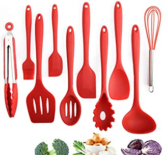 Cooking Utensils Set Silicone Kitchen Silicone Cooking Utensils Package 10 Pieces for a Set Heat-resistant Non-stick Creative Cooking Appliances