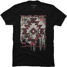 Design By Humans Aztec Modern Men's Graphic T Shirt