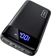 INIU Portable Charger, LED Display 20000mAh Power Bank...