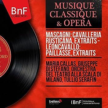 Mascagni: Cavalleria rusticana, extraits - Leoncavallo: Paillasse, extraits (Mono Version)