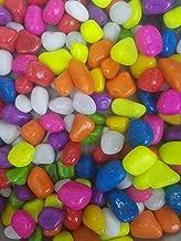 Devu Parbat Stone Glossy and Decorative Garden and Glass Pebbles (Multicolour, 1 kg)