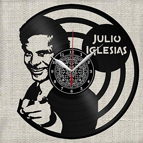 relojes con discos de vinilo de la marca Great Clock