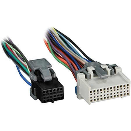 Amazon Com Metra Reverse Wiring Harness 71 2103 1 For Select Gm Vehicles Oem Radio