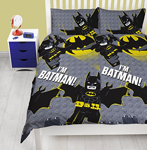 The Lego Batman Movie Beddengoedset, design Ik ben van Batman, tweepersoonsbed