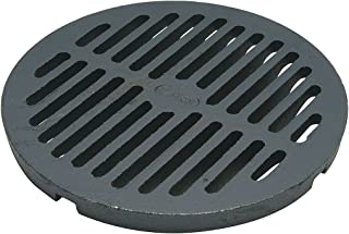 Floor Grate, Cast Iron, 8 In Dia.