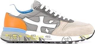 Luxury Fashion | Premiata Men MICK4570 Beige Leather Sneakers | Spring-summer 20