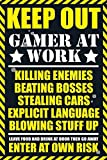 1art1 Gaming - Keep Out, Gamer at Work Poster 91 x 61 cm