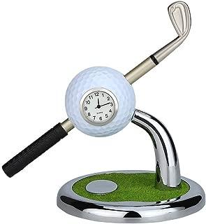 golf ball desk clock