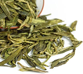 GOARTEA 500g (17.6 Oz) Organic West Lake Xihu Long Jing Longjing Dragon Well Spring Loose Leaf Green TEA