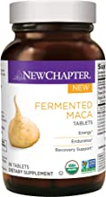 New Chapter Organic Maca Supplement - Fermented Maca Tablet for Energy + Endurance + Recovery Support - 96 ct