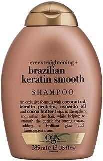 Shampoo Brazilian Keratin Smooth, OGX, 385 ml