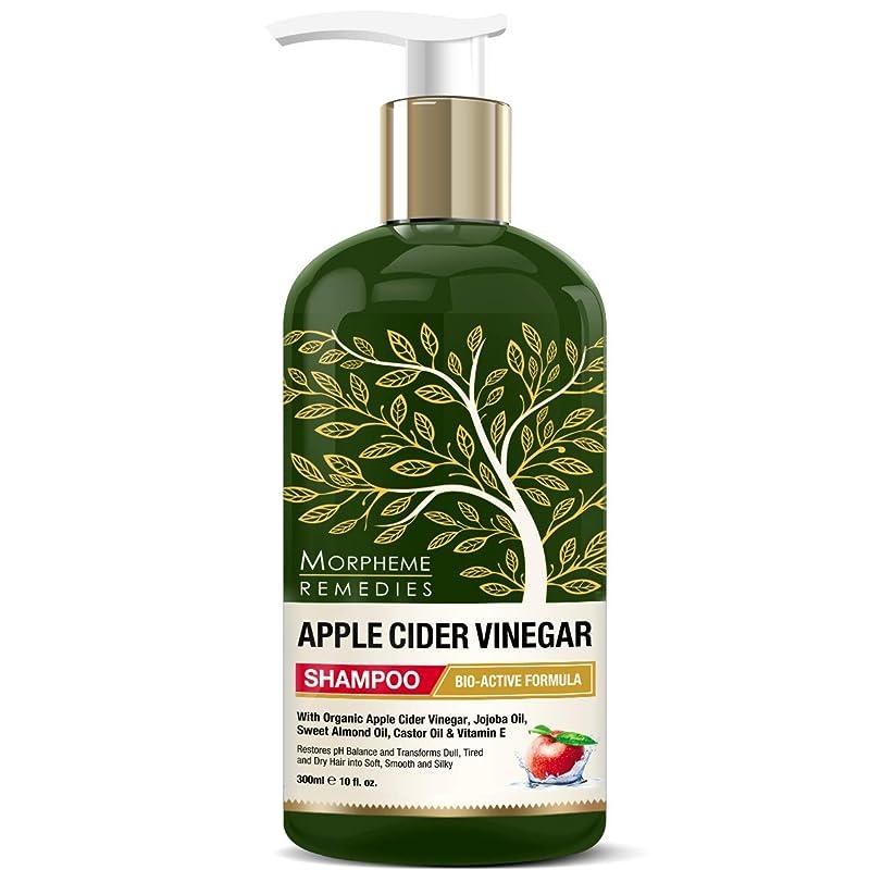 デクリメント不安オフセットMorpheme Remedies Apple Cider Vinegar Shampoo (No Sulfate, Paraben or Silicon), 300ml - Transforms Dull, Tired & Dry Hair into Soft, Smooth & Silky