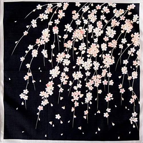 Wanna Do good FUROSHIKI- Japanese Traditional Wrapping (SAKURA-Black)