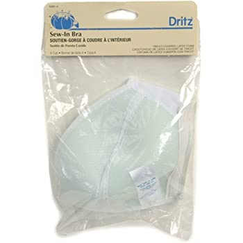 Dritz Soft Molded Bra Cups 1 pair A/B Cup for Swimwear