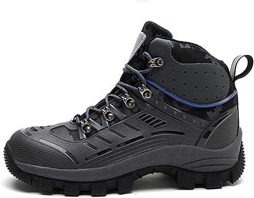 QLJ01 Nouveau Nouveau Haut Haut Hommes Bottes De Randonnée Haute Durable Chaud Chaussures d'escalade en Plein Air Hommes paniers  sports chauds