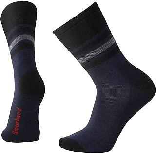 Men's Striped Hike Medium Crew Socks