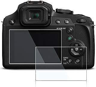 Screen Protector for Panasonic Lumix FZ80 FZ85 TZ85 TZ90 DMC-GF9 DMC-GF8,debous Anti-finger Optical Tempered Glass Hard Protective Film (2pack)