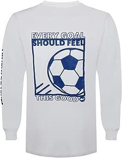 Vineyard Vines Men's Long Sleeve Graphic Pocket T-Shirt (White Cap/Soccer Box, X-Large)