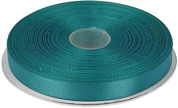 "3//8/"" Grosgrain//Circles Ribbon-May Arts Turquoise//Green//Blue 5 yds XJ34"