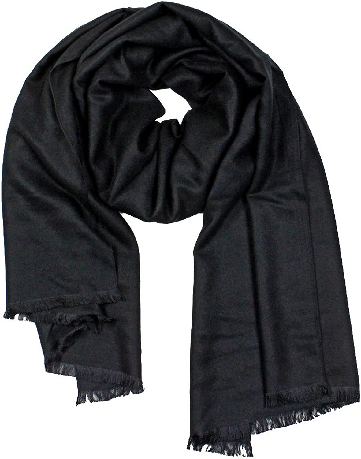 StarGo All Season Fashion Lightweight Cotton Women Wrap Shawl Scarves in Solid colors