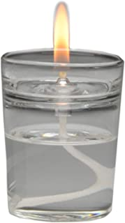 Firefly Zen Petite Refillable Glass Oil Warmer Aromatherapy Candle - Votive Size - Easily Change Essential Oils and Home Fragrances