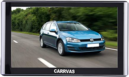 CARRVAS 7inch HD Portable Navigation System Free Lifelong Maps