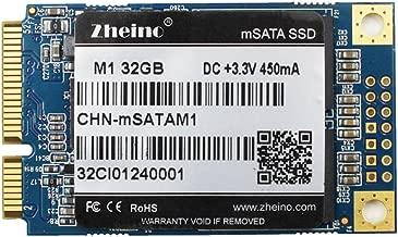 Zheino M1 32GB mSATA SSD Internal mSATA3 Hard Drive Solid State Drive for Mini Pc Notebooks Tablets Pc Laptop and Ultrabooks