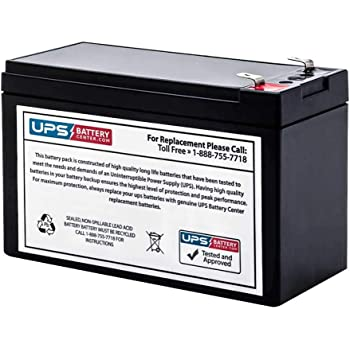 This is an AJC Brand Replacement SU420NET APC Smart-UPS 420VA 12V 7Ah UPS Battery