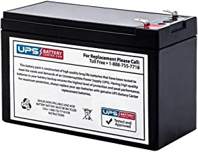 APC BackUPS 350VA BK350 Compatible Replacement Battery by UPSBatteryCenter