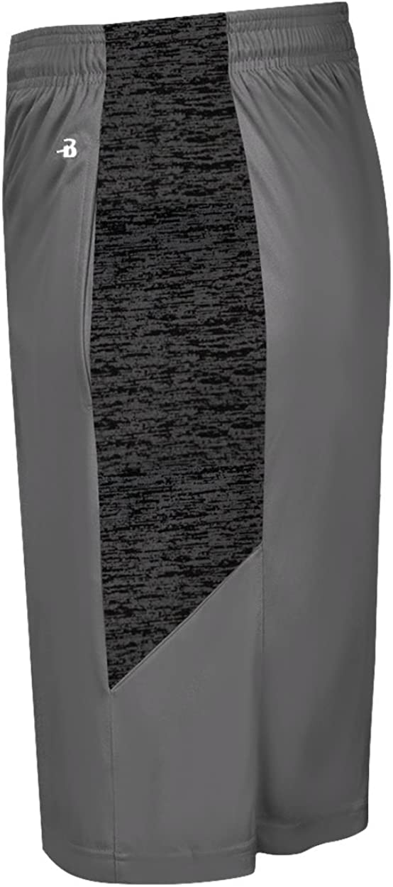 Badger Sport Graphite Shorts with Graphite Sublimated Youth / (Small) 7