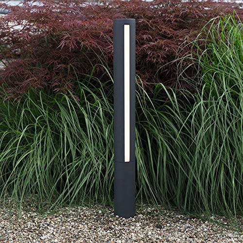 HEITRONIC Elegante Desgin Aluminium Wegeleuchte LED Standleuchte LILIA 25W schwarz 75cm