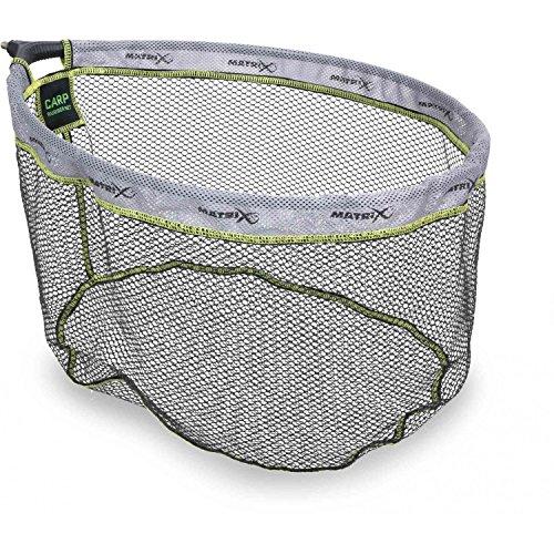 Fox Matrix Carp Rubber landing net 45x35cm - beschichteter Kescherkopf zum Friedfischangeln, Stippkescher, Kopf für Unterfangkescher