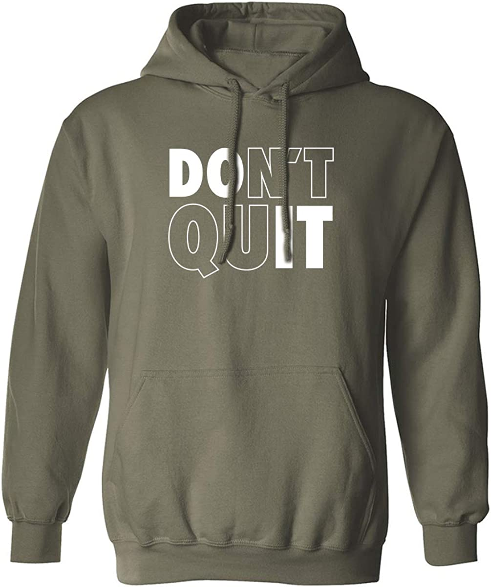 zerogravitee Dont Quit//Do It Adult Hooded Sweatshirt