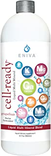 Eniva Cell Ready Ionic Multi Minerals Concentrate w/Natural Flavors, Liquid Minerals and Rapid Absorption. (32 oz)