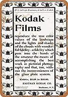 コダックフィルム金属看板レトロな壁の装飾ティンサインバー、カフェ、家の装飾