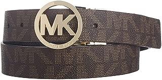 Mk Signature Monogram Belt and Buckle Reversible
