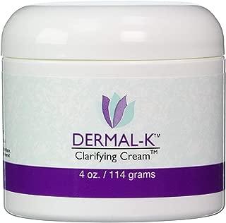 Dermal-K Vitamin K Cream 4 Ounces | Best Formula For Skin Eye Cream Treatment | Prevent Scars Facial Dark Spots Bruises and Veins