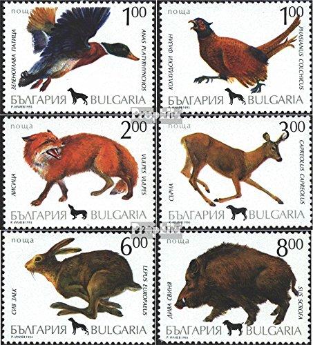 Prophila Collection Bulgarien 4083-4088 (kompl.Ausg.) 1993 Jagdwild (Briefmarken für Sammler) Säuger Sonstige