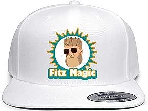 Shedd Shirts White Snapback Miami Fitzpatrick Fitz Magic Hat
