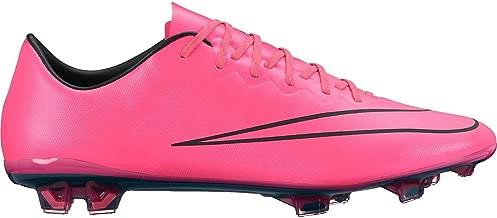 NIKE Mercurial Vapor X FG (Acc) 648553-660 Hyper Pink/Black Men's Soccer Cleats (Size 13)